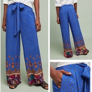 {Anthropologie} Wide Leg Trousers